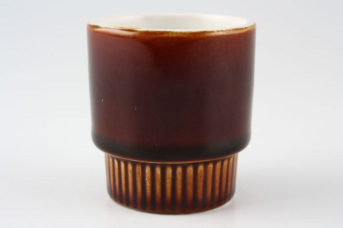 """Poole Chestnut Egg Cup 1 7/8 x 2"""""""