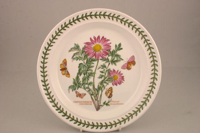 """Portmeirion Botanic Garden Dinner Plate Chrysanthemum Coccinum - Flowered Chrysanthemum - named 10 1/2"""""""
