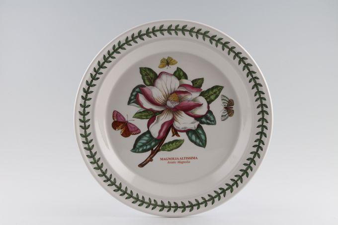 "Portmeirion Botanic Garden Dinner Plate Magnolia Altissima - Asiatic Magnolia - named 10 1/2"""