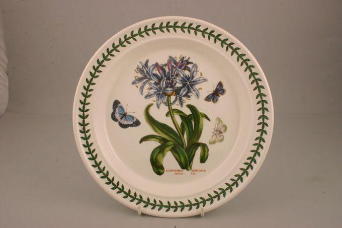"""Portmeirion Botanic Garden Dinner Plate Agapanthus Africanus - African Lily - named 10 1/2"""""""