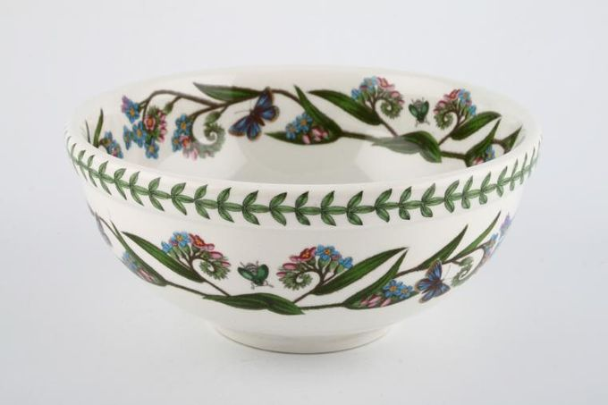 "Portmeirion Botanic Garden Serving Bowl Veronica Chamaedrys - Speedwell - named 6 5/8"""
