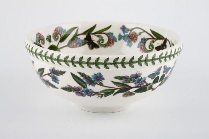 "Portmeirion Botanic Garden Serving Bowl Rhododendron Lepidotum - Rhododendron - named 6 5/8"""