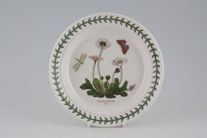 """Portmeirion Botanic Garden Tea / Side Plate Bellis Perennis - Daisy - named 7 1/4"""""""