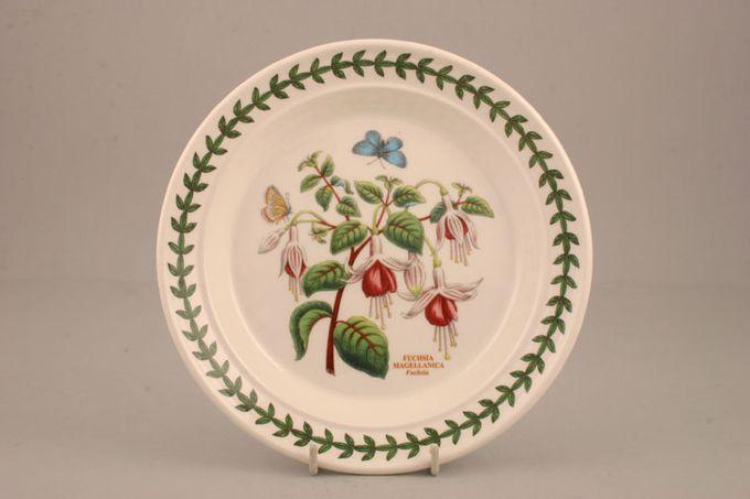 "Portmeirion Botanic Garden Tea / Side Plate Fuschia Magellanica - Fuschia - named 7 1/4"""