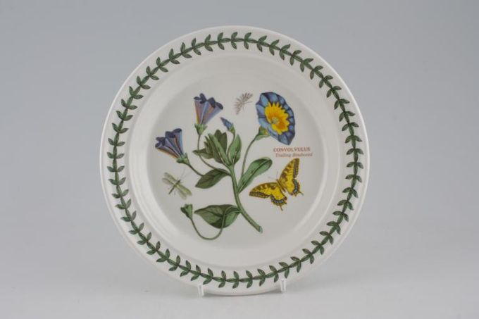 "Portmeirion Botanic Garden Tea / Side Plate Convolvulus - Trailing Bindweed - named 7 1/4"""