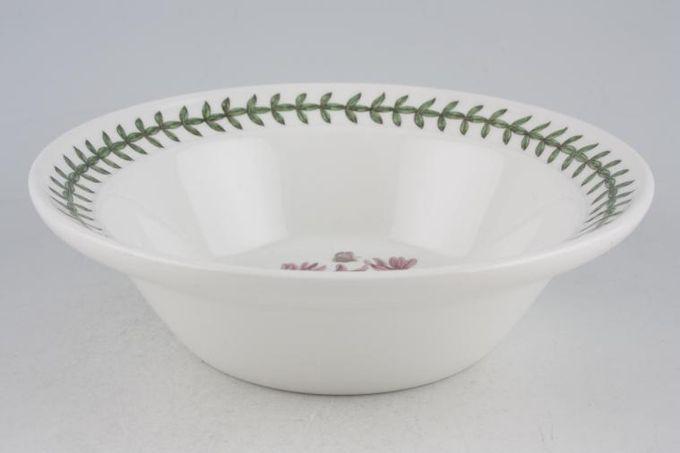 """Portmeirion Botanic Garden Rimmed Bowl Cyclamen Repandum - Cyclamen - named 6 1/2"""""""