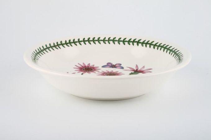 """Portmeirion Botanic Garden Pasta Bowl Gazania Ringens - Treasure Flower - named 8 5/8"""""""