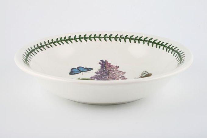 "Portmeirion Botanic Garden Pasta Bowl Syringa Vulgaris - Garden Lilac - named 8 5/8"""