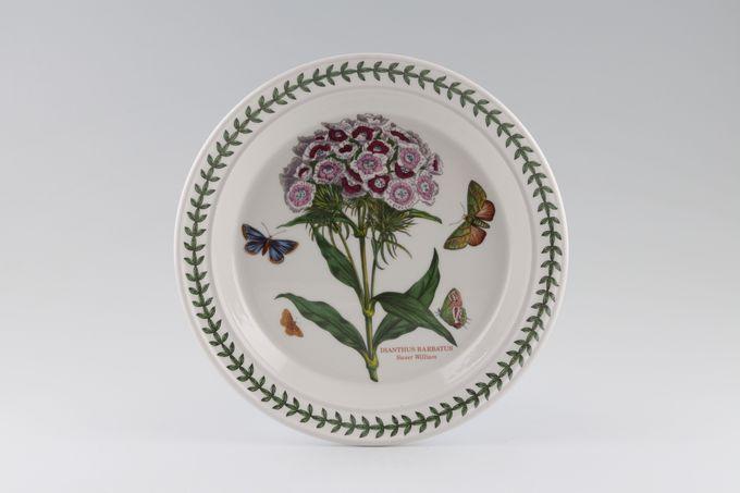 "Portmeirion Botanic Garden Salad/Dessert Plate Dianthus Barbatus - Sweet William - named 8 1/2"""