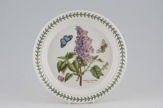 "Portmeirion Botanic Garden Salad/Dessert Plate Syringa Vulgaris - Garden Lilac - named 8 1/2"""