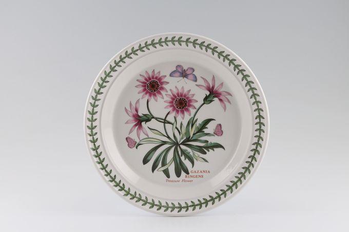 """Portmeirion Botanic Garden Salad/Dessert Plate Gazania Ringens - Treasure Flower - named 8 1/2"""""""