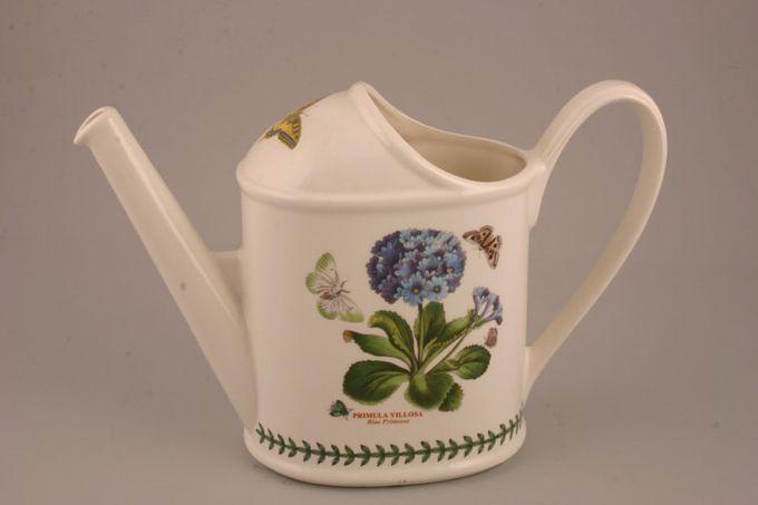 Portmeirion Botanic Garden Decorative Watering Can Primula Villosa - Blue Primrose - named 2 1/2pt