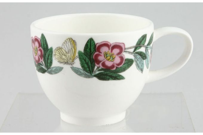 "Portmeirion Botanic Garden Coffee Cup Pink Flower - no name 2 1/2 x 2 1/8"""
