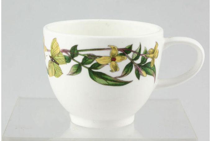"Portmeirion Botanic Garden Coffee Cup Yellow Jasmine - no name 2 1/2 x 2 1/8"""
