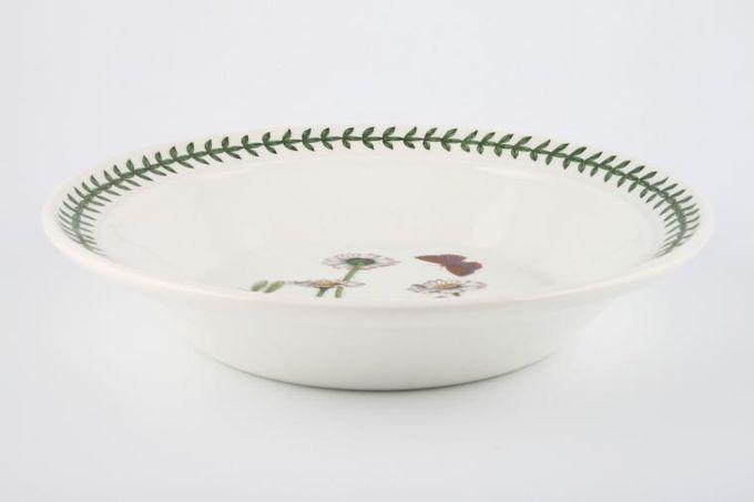 """Portmeirion Botanic Garden Rimmed Bowl Bellis Perennis - Daisy - named 8 1/2"""""""