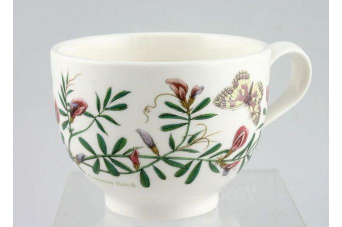 "Portmeirion Botanic Garden Teacup Romantic shape - Vicia Satvia -Common Vetch - named 3 1/2 x 2 5/8"""