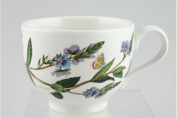 "Portmeirion Botanic Garden Teacup Romantic shape - Veronica Chamaedrys -Speedwell - named 3 1/2 x 2 5/8"""