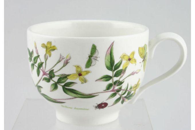 "Portmeirion Botanic Garden Teacup Romantic shape - Jasminium Revolutum - Yellow Jasmine - named 3 1/2 x 2 5/8"""