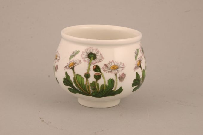"Portmeirion Botanic Garden Sugar Bowl - Open (Tea) Romantis shape - Bellis Perennis - Daisy 3 1/4 x 3"""