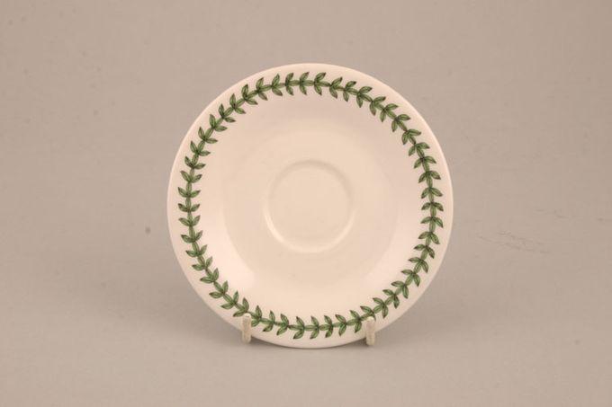 """Portmeirion Botanic Garden Tea Saucer For Romantic shape cup - 1 7/8"""" well 6"""""""