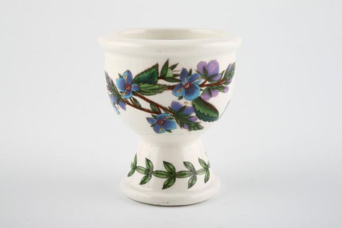 "Portmeirion Botanic Garden Egg Cup Veronica Chamaedrys - Speedwell - no name 2 1/4 x 2 1/2"""
