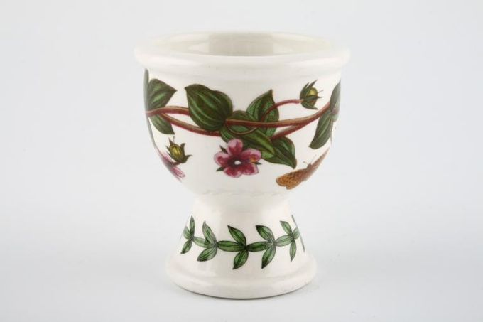 """Portmeirion Botanic Garden Egg Cup Anagallis - Pimpernel - No Name 2 1/4 x 2 1/2"""""""