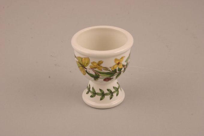 "Portmeirion Botanic Garden Egg Cup Jasminium Revolutum - Yellow Jasmine - no name 2 1/4 x 2 1/2"""