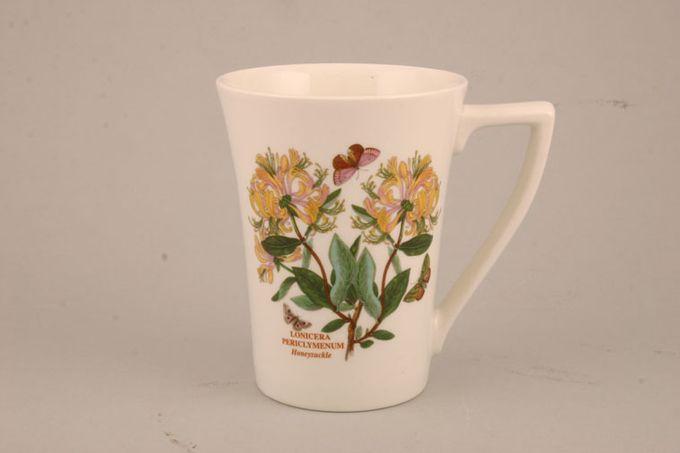 "Portmeirion Botanic Garden Mug Tall - Lonicera Peridymenum - Honeysuckle - named 3 1/2 x 4 1/2"""