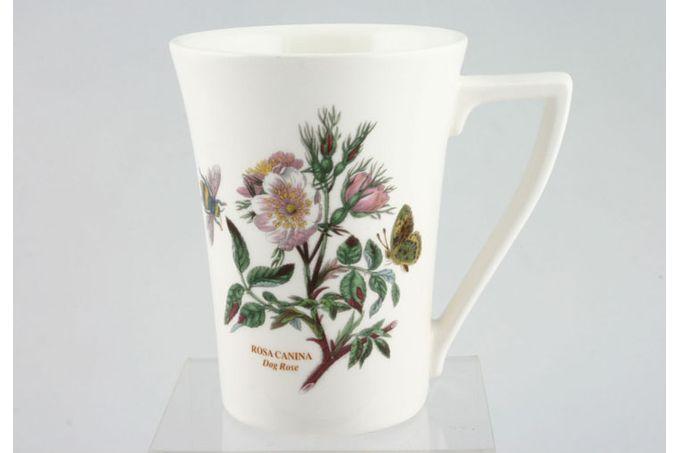 "Portmeirion Botanic Garden Mug Tall - Rosa Canina - Dog Rose - named 3 1/2 x 4 1/2"""