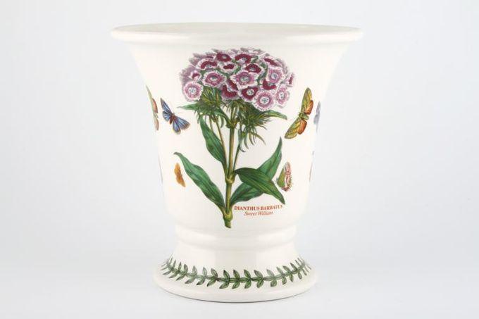 """Portmeirion Botanic Garden Vase Dianthus Barbatus - Sweet William - named - Bell shaped 8 x 8 1/4"""""""