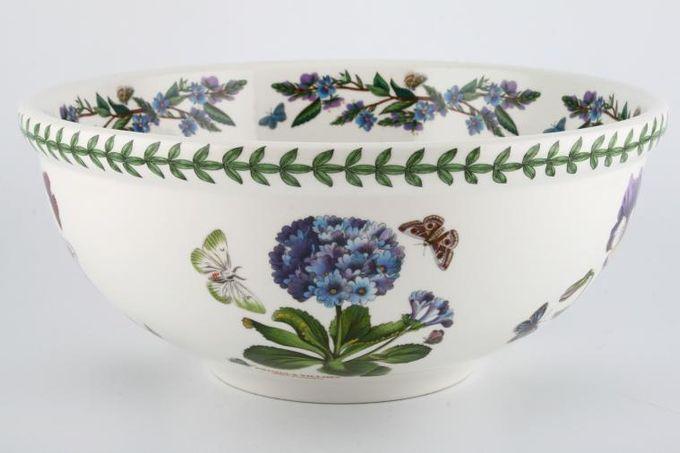 "Portmeirion Botanic Garden Serving Bowl Rhododendron Lilliflorum - Lily Flowered Azalea - named 11 1/4"""
