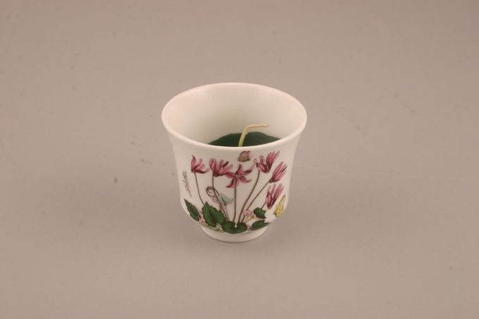Portmeirion Botanic Garden Candle Light Candle in cup shape - Cyclamen Repandum - Cyclamen - no name 2 3/4 x 2 1/2""