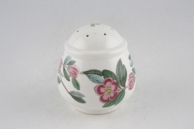 "Portmeirion Botanic Garden Pepper Pot P on top - Rhododendron Lepidotum - Rhododendron 2 3/4"""