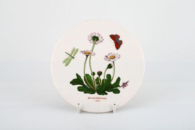 """Portmeirion Botanic Garden Teapot Stand Bellis Perennis - Daisy - named 6"""""""