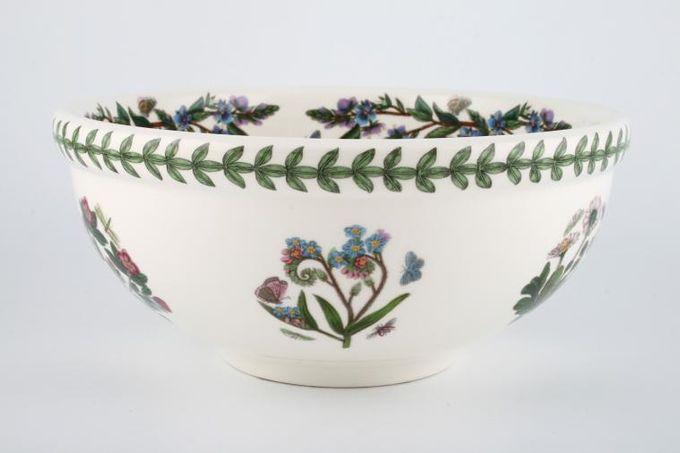"""Portmeirion Botanic Garden Serving Bowl Gazania Ringens - Treasure Flower 9 1/4"""""""