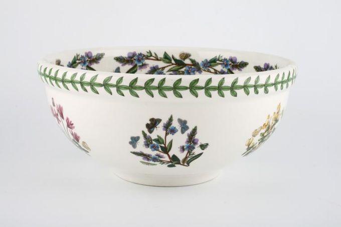 "Portmeirion Botanic Garden Serving Bowl Amaryllis Belladona - Belladona Lily 9 1/4"""