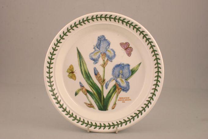 "Portmeirion Botanic Garden Salad/Dessert Plate Iridaceae Douglasiana - Iris - named 8 1/2"""