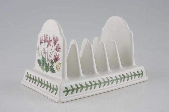 """Portmeirion Botanic Garden Toast Rack Cyclamen and Daisy 6"""""""