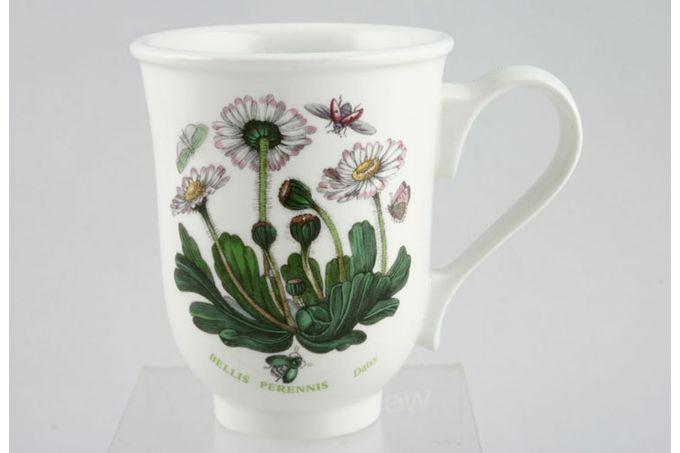 """Portmeirion Botanic Garden Mug Bell Shape - Bellis Perennis - Daisy 3 1/2 x 4 1/4"""""""