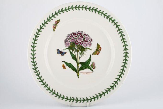 "Portmeirion Botanic Garden Round Platter Round - Dianthus Barbatus - Sweet William 13"""