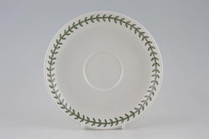 "Portmeirion Botanic Garden Breakfast Saucer For Romantic Shape Cup 6 5/8"""