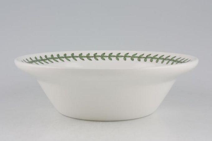 "Portmeirion Botanic Garden Rimmed Bowl Viola Tricolor - Heartsease - Named 6 1/2"""