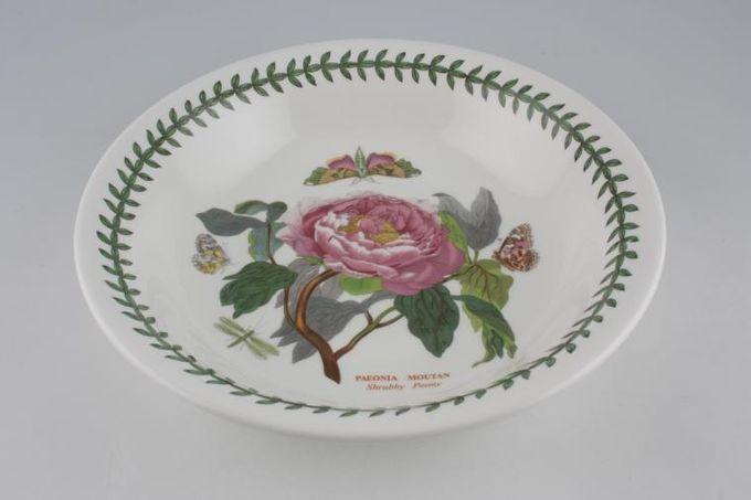 """Portmeirion Botanic Garden Serving Bowl Paeonia Moutan - Shrubby Peony 10 1/2 x 2 1/4"""""""