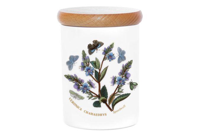 """Portmeirion Botanic Garden Storage Jar + Lid Speedwell 3 1/4 x 4"""""""