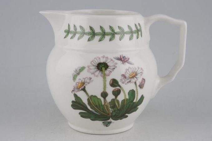 Portmeirion Botanic Garden Milk Jug Staffordshire Jug - Bellis Perennis - Daisy - no name 1/2pt