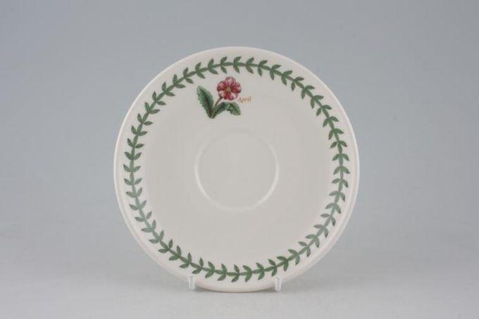 "Portmeirion Botanic Garden Tea Saucer April 6"""