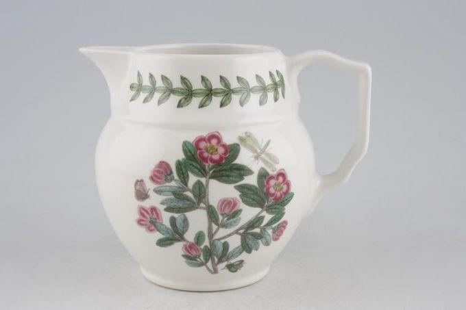 Portmeirion Botanic Garden Milk Jug Staffordshire Jug - Rhododendron Lepidotum - no name 1/2pt