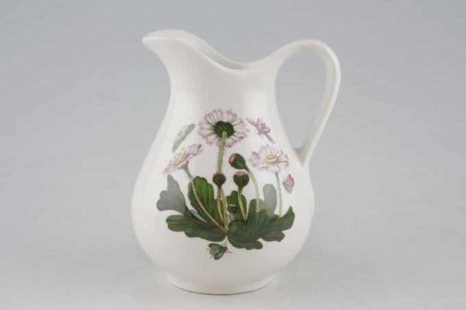 Portmeirion Botanic Garden Milk Jug Bellis Perennis - Daisy - no name 1/3pt