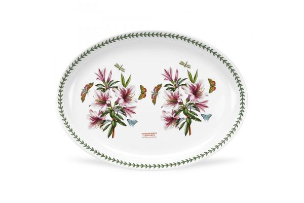 Portmeirion Botanic Garden Oval Plate / Platter Turkey Platter