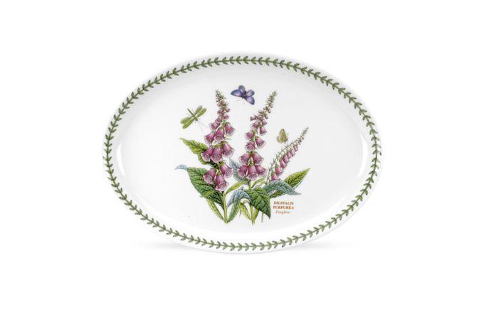 Portmeirion Botanic Garden Oval Plate / Platter Foxglove